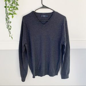 Men's J. Crew Navy Slim Merino Wool Sweater